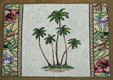 Tropical Palm ~ Palm Trees Tapestry Placemat