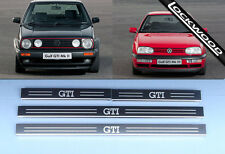 VW Golf  (Mk2 and Mk3) GTi, 4 Door Sill Protectors / Kick plates