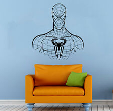 Spider Man Wall Decal Comics Super Hero Vinyl Sticker Home Wall Decor (009sm)