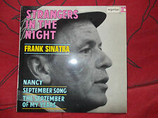 sinatra  ; strangers in the night  - disque vogue n° 60089