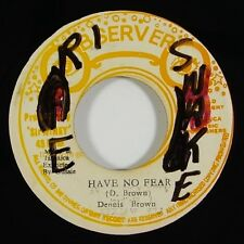 "Dennis Brown ""Have No Fear"" Reggae 45 Observers mp3"