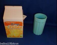 Fisher Price Fun Food kitchen Orange juice cup set 3 + Boys & Girls