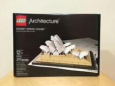 New Sealed LEGO Architecture Set 21012 Sydney Opera House Australia Landmark