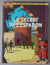 Jacobs   BLAKE ET MORTIMER  **  LE SECRET DE L'ESPADON  TOME 2   ** DARGAUD  TBE