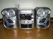 PANASONIC SA-AK320 NITRIX HIFI 5 CD CHANGER STEREO SYSTEM MP3