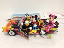 Disney World Micky Mouse Classic 57 Chevy Bel Air Porcelain Figurines