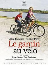 Affiche 40x60cm LE GAMIN AU VÉLO 2011 Dardenne - Cécile De France NEUVE