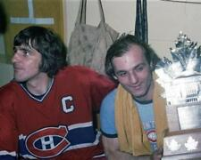 Serge Savard, Guy Lafleur Montreal Canadiens Unsigned 8x10 Photo