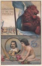* FAENZA - Onoranze a Evangelista Torricelli 1908 - A.Calzi (2)