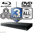 Sony 3D Blu-ray Player Multi Region All Zone Code Free BDPS7200B BDP-S7200B 4K