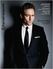 Tom Hiddleston-Nuevo Uk Telegraph Revista-Loki Hunk