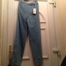 marks and spencer ladies jeans size 8 long rrp £18 elasticated waist