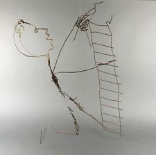 Lonnie Holley (1950 - ) Large Outsider Southern Folk Art Wire Sculpture ATL