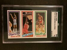 1980-81 TOPPS #164 TAYLOR/REID S.D/CRISS *CLIPPERS* SGC NM 7  *KRBB-5629