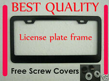 Porsche Superior PLAIN BLACK METAL LICENSE PLATE FRAME ** NEW
