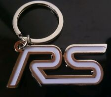 FORD FOCUS FIESTA WHITE 'RS' KEYRING 3GD1