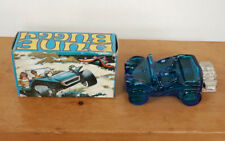 Vintage AVON Blue Dune Buggy Car Decanter Bottle After Shave w/ Box Full