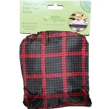 Red Shopping Cart High Chair Cover Baby Waterproof PVC FREE NEW by Green Sprouts