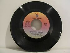 45 RECORD MICKEY GILLEY- I OVERLOOKED AN ORCHID