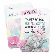 Me to You Love You Mum Keepsake Card Gift For Mothers - Tatty Teddy Bear