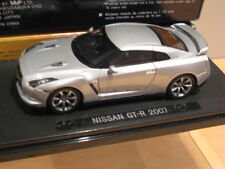 1/43 Ebbro Nissan GT-R 2007 Ultimate Metal Silver Very Rare Model WOW !!