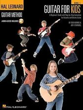 Guitar for Kids: A Beginner's Guide with Step-By-Step Instruction for Acoustic a