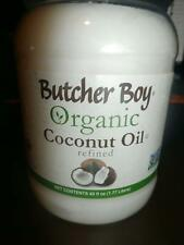 NEW BUTCHER BOY ORGANIC COCONUT OIL REFINED 60 FL OZ NON GMO EXP 05/2018
