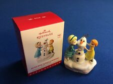 Do You Want to Build a Snowman? (Frozen) - 2016 Hallmark Christmas ornament