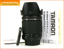 Tamron 18-200mm F3.5-6.3 Di II VC Lens All Nikon + Free UK Postage