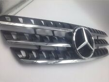 black Mercedes W163 ML320 ML350 ML500 1998-2005 front grille mesh grill vent