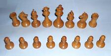 Antique vintage retro decorative attractive desirable wooden chess pieces wood