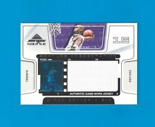 VINCE CARTER Film/Jersey Raptors 2001-02 Fleer Marquee Feature Presentation #1