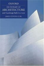 A Dictionary of Architecture and Landscape Architecture (Oxford Paperb-ExLibrary