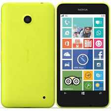 New Nokia Lumia 630 Dual Sim Yellow 8GB Unlocked Windows Phone 1 Year Warranty