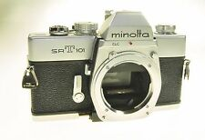Chrome Minolta Srt101 Srt-101 Film Camera Body