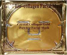 50 Pcs Gold Bio Collagen Facial Face Mask High Moisture EXP 01/2018