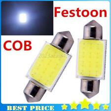 2 Pcs Bright White 41mm Cob C5W Car Vehicle Festoon Dome Interior Led Light Bulb