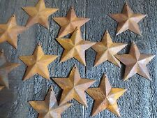 Lot 100 Rusty Barn Stars 2.25 in 2 1/4 Primitive Country Rusted Rustic Americana