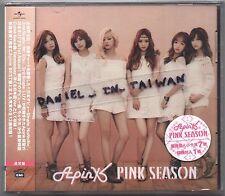 Apink: Pink Season - FIRST JAPANESE ALBUM (2015) Japan / CD & CARD TAIWAN