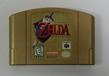 THE LEGEND OF ZELDA OCARINA OF TIME NINTENDO 64 VIDEO GAME