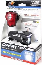Cygolite Dash 350 & Hotshot Micro 30 Combo Rechargeable Front / Rear Bike Lights