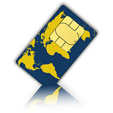 Prepaid WorldSIM with 10 Euro credit  - travelling the world and stay connected