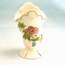 Vintage Hull Mum vase pattern Woodland Gloss made in 1949  ID#65