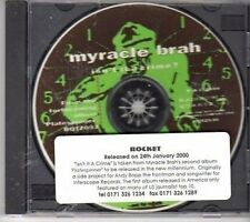 (CY639) Myracle Brah, Isn't It A Crime? - 2000 DJ CD