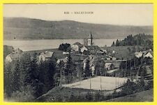cpa 25 - Village de MALBUISSON (Doubs) Terrain Court de TENNIS Lac St POINT