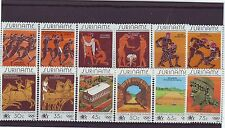 SURINAM - SG1180-1191 MNH 1984 OLYMPIC GAMES LOS ANGELES