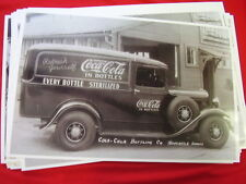1934 FORD PANEL TRUCK COKE COLA DELUXE WHEELS  11 X 17  PHOTO   PICTURE