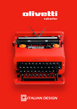 BLACK FRIDAY SALE!!! Olivetti Red Valentine - Vintage Working Typewriter - Gift