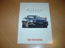 CATALOGUE Toyota Celica de 1996