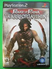 Prince Of Persia ps2 PlayStation 2 2004 Ubisoft Includes Booklet Black Label